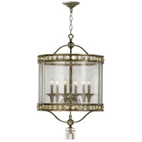 Buckingham 6 Light 23 inch St Regis Bronze Foyer Pendant Ceiling Light