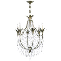 Luciana 6 Light 30 inch St Regis Bronze Chandelier Ceiling Light