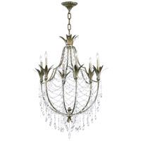 Cyan Design 6492-6-33 Luciana 6 Light 30 inch St Regis Bronze Chandelier Ceiling Light