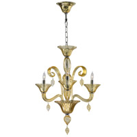 Treviso 3 Light 20 inch Chrome Chandelier Ceiling Light