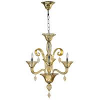 Cyan Design 6493-3-14 Trviso 3 Light 20 inch Chrome Chandelier Ceiling Light