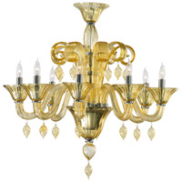Treviso 8 Light 29 inch Chrome Chandelier Ceiling Light