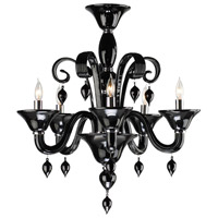Treviso 5 Light 24 inch Chrome Chandelier Ceiling Light