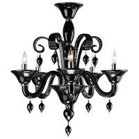Cyan Design 6494-5-14 Treviso 5 Light 24 inch Chrome Chandelier Ceiling Light