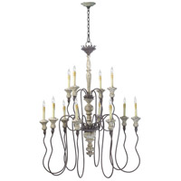 Provence 12 Light 39 inch Carriage House Chandelier Ceiling Light