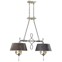 Cyan Design 6514-6-43 Provence 6 Light 37 inch Carriage House Island Light Ceiling Light