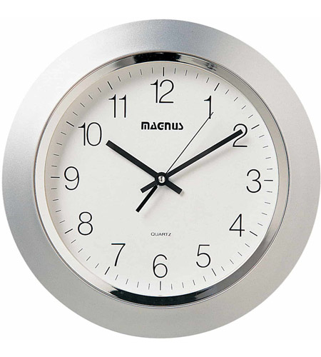 Dainolite 29012-MT-SV Clock Silver Decorative Accessory photo