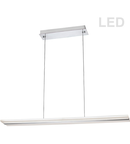 Dainolite 301-LEDHP36-PC Signature LED 36 inch Polished Chrome Horizontal Pendant Ceiling Light