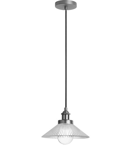 Dainolite 404-101P-SC Signature 1 Light 10 inch Satin Chrome Pendant Ceiling Light
