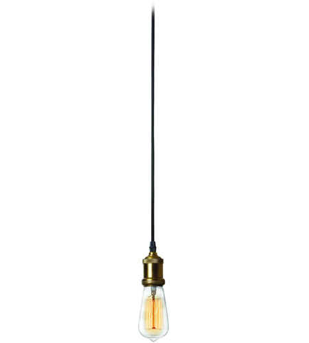 Dainolite Vintage Steel Antique Brass Pendants