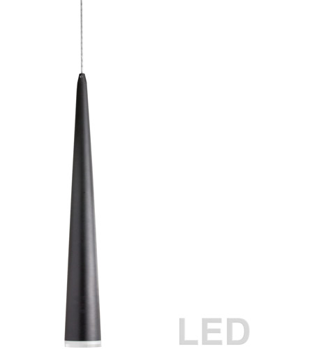 Dainolite 418LED-241P-MB Signature LED 3 inch Matte Black Pendant Ceiling Light photo thumbnail