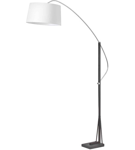 Polished Chrome Steel Floor Lamps