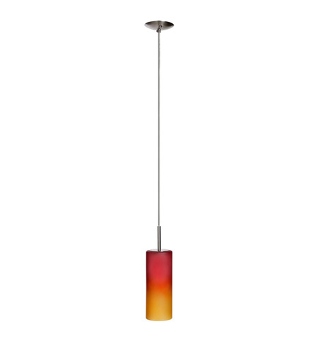 Dainolite Lighting Round 1 Light Pendant in Satin Chrome  83202-SC-RD photo