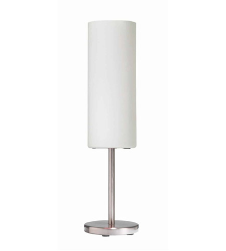 Dainolite Satin Chrome Metal Table Lamps