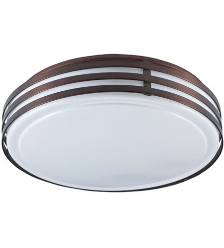 Dainolite Lighting Ceiling 2 Light Flush-Mount in Oil Brushed Bronze  890-12FH-OBB photo