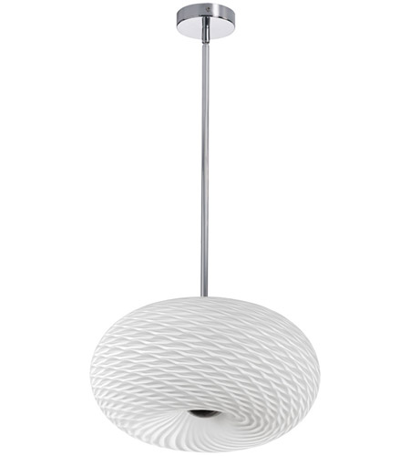 Dainolite Satin Chrome Steel Signature Pendants