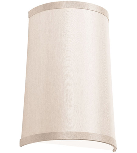Dainolite 947812W-720 Signature 1 Light Satin Chrome Sconce Wall Light