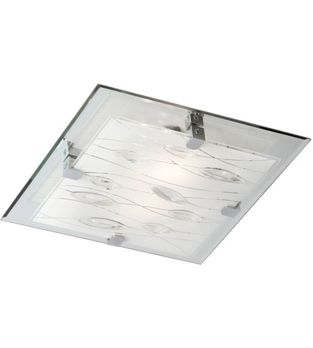 Dainolite CG9113FH-PC Signature 3 Light 12 inch Polished Chrome Flush Mount Ceiling Light photo