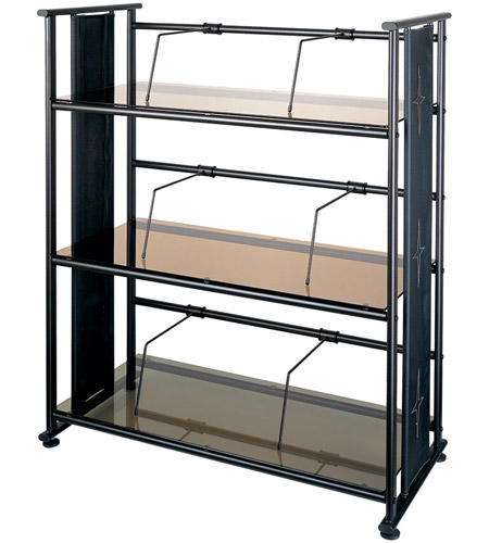 Dainolite Lighting Bookshelf Furniture in Bronze Glass and Oil Brush Bronze Metal  DBS-326-BZ-OBB photo