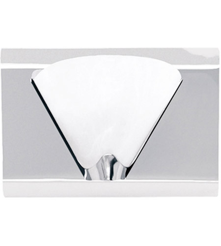 Dainolite Signature 1 Light Vanity in Polished Chrome DG9W6001-PC photo