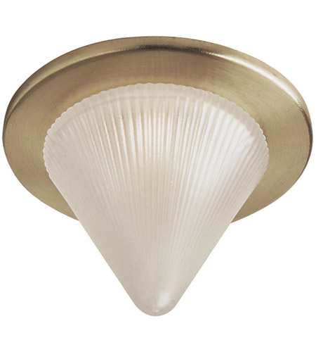 Dainolite Glass Cone Recessed Light Trim Accessory in Satin Brass DL221-SB photo