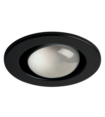 Dainolite Lighting Trim 1 Light Pot Light in Black  DL400-BK