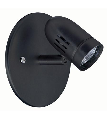 Dainolite Lighting Signature 1 Light Display Light in Black  DLH2012-BK photo