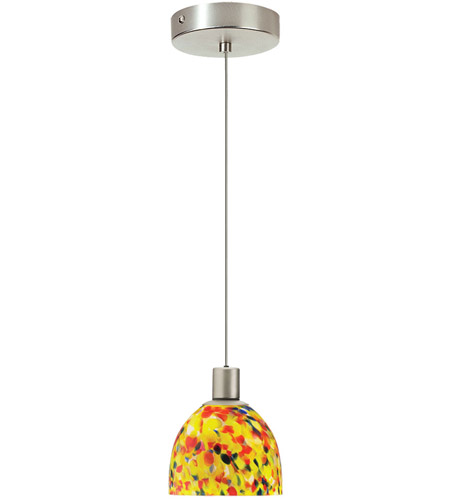 Dainolite DLSL701-YM-SC Signature 1 Light 5 inch Satin Chrome Pendant Ceiling Light