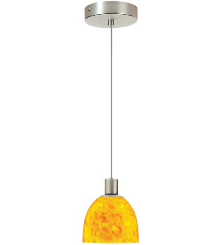 Dainolite Lighting Signature 1 Light Pendant in Satin Chrome  DLSL701-YP-SC photo