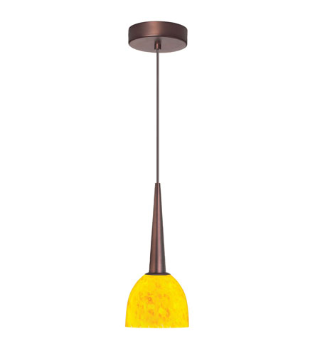 Dainolite Lighting Signature 1 Light Pendant in Oil Brushed Bronze  DLSL7711-YP-OBB photo