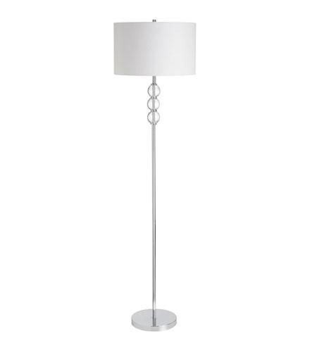 Dainolite Lighting Crystal Balls 1 Light Floor Lamp in Polished Chrome  DM1292F-PC photo