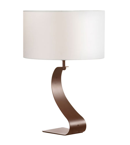 Dainolite Lighting Signature 1 Light Table Lamp in Oil Brushed Bronze  DM208-OBB photo
