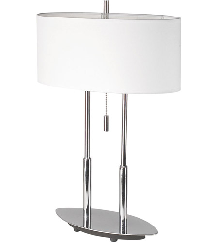 Dainolite Lighting Signature 2 Light Table Lamp in Polished Chrome  DM2222-PC photo
