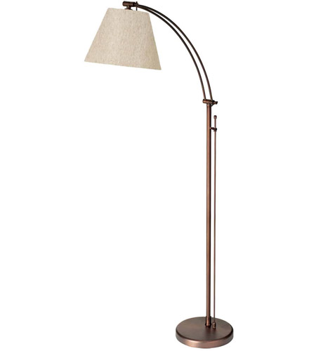 Dainolite DM2578-F-OBB Adjustable 61 inch 100 watt Oil Brushed Bronze Floor Lamp Portable Light photo