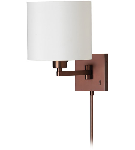 Dainolite DMWL112-OBB Signature 11 inch 100 watt Oil Brushed Bronze Swing Arm Wall Lamp Wall Light photo