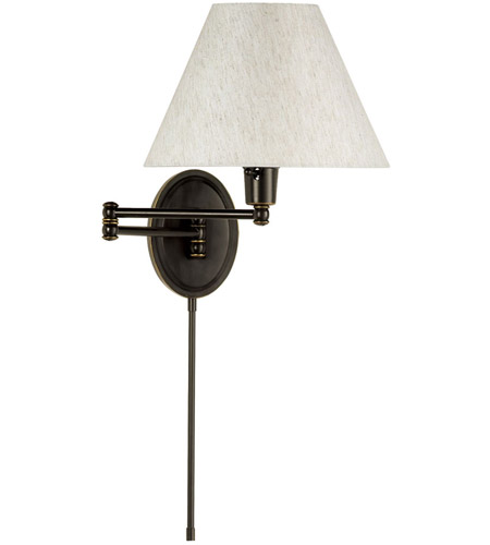 Dainolite Lighting Swing-Arm 1 Light Wall Lamp in Oil Brushed Bronze  DMWL818-OBB photo