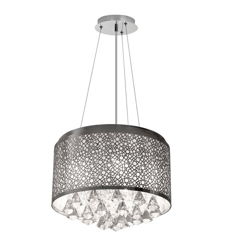 Dainolite Lighting Crystal 5 Light Chandelier in Polished Chrome  DOM-8585C-PC photo
