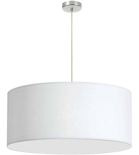 Dainolite DRM-L-790 Signature 1 Light 28 inch Polished Chrome Pendant Ceiling Light photo thumbnail