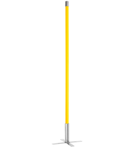 Dainolite DSTX-36-YL Avant-garde 53 inch 36 watt Yellow Floor lamp Portable Light photo