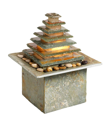 Dainolite Lighting Signature 1 Light Outdoor Fountain in Natural slate  FFN550 photo