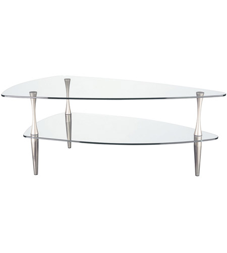 Dainolite Lighting Signature Furniture in Clear and Satin Chrome  GCT-378-CGL-SC photo