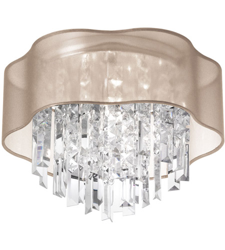 Dainolite Lighting Illusion 4 Light Chandelier in Polished Chrome  ILL-144FH-PC-811 photo