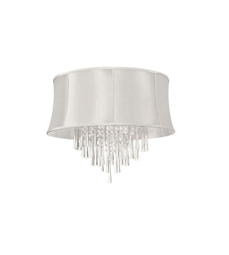 Dainolite JUL268FH-PC-140 Julia 8 Light 26 inch Polished Chrome Flush Mount Ceiling Light photo