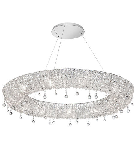 Dainolite Lighting Luxe 12 Light Chandelier in Polished Chrome  LUX-3614C-PC photo