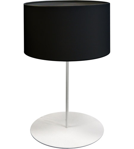 Dainolite Metal Drum Table Lamps
