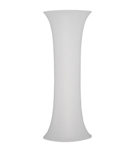 Dainolite Maya 7 Light Floor Lamp in Polished Chrome with White Lycra Shade MYA-71F-PC-900 photo