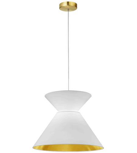 Dainolite Pat 181p Agb 692 Patricia 1 Light 18 Inch Aged Brass Pendant Ceiling Light