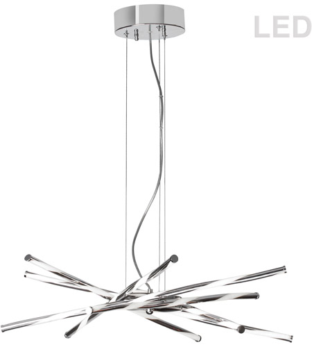 Dainolite pir 26p pc pirouette led 26 inch polished chrome pendant dainolite pir 26p pc pirouette led 26 inch polished chrome pendant ceiling light photo mozeypictures Images
