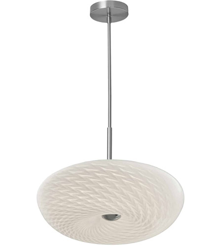 Dainolite Satin Chrome Glass Signature Pendants