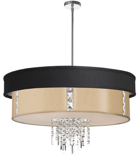 Dainolite Lighting Rita 4 Light Chandelier in Polished Chrome  RITA-31-4-PC-694-839 photo